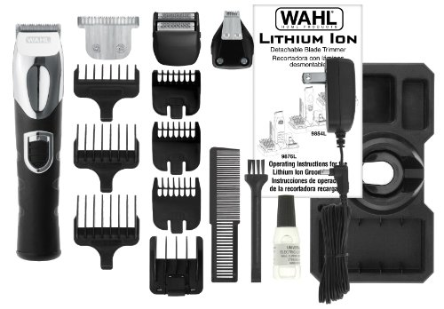 wahl 9854 600 beard trimmer all in one lithium ion review. Black Bedroom Furniture Sets. Home Design Ideas